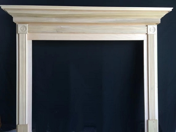 Bullseye Rosette Mantel - Stock or Custom